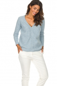 Be Pure |  Sweater Pomme | blue  | Picture 4