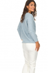Be Pure |  Sweater Pomme | blue  | Picture 6
