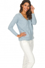 Be Pure |  Sweater Pomme | blue  | Picture 5