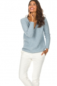 Be Pure |  Sweater Pomme | blue  | Picture 2
