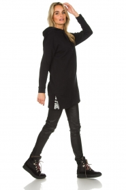 Be Pure |  Sweater dress Nina | black  | Picture 3