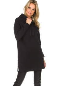 Be Pure |  Sweater dress Nina | black  | Picture 4