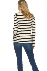 Be Pure |  Striped sweater Liv | black  | Picture 5