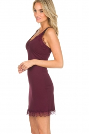 Rosemunde |  Slip Dress Billie | burgundy  | Picture 4