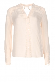 Blouse met kant Erika | naturel