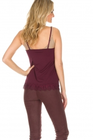 Rosemunde | Top Eva | burgundy  | Picture 4
