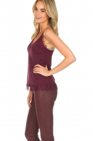 Rosemunde | Top Eva | burgundy  | Picture 3