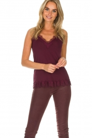 Rosemunde | Top Eva | burgundy  | Picture 2