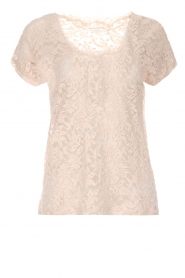 Rosemunde | Kanten top Alana | roze  | Afbeelding 1