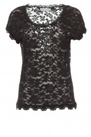 Rosemunde |  Lace top Alana | black  | Picture 1