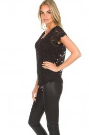 Rosemunde |  Lace top Alana | black  | Picture 4