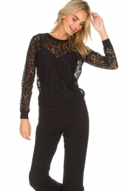 Rosemunde | Lace top Rosa | black  | Picture 2