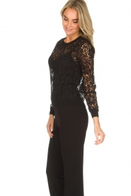 Rosemunde | Lace top Rosa | black  | Picture 4
