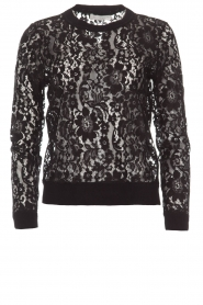 Rosemunde | Lace top Rosa | black  | Picture 1