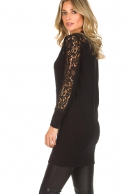 Rosemunde |  Cardigan with lace details Maci | black  | Picture 5