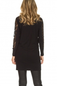 Rosemunde |  Cardigan with lace details Maci | black  | Picture 6