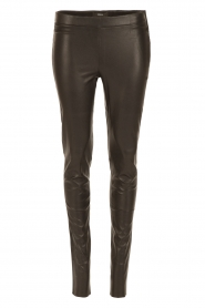 Arma |  Leather leggings Roche | black  | Picture 1