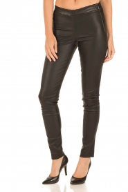 Arma |  Leather leggings Roche | black  | Picture 3