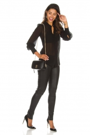 Arma |  Leather leggings Roche | black  | Picture 2