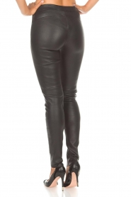 Arma |  Leather leggings Roche | black  | Picture 5
