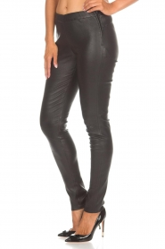 Arma |  Leather leggings Roche | black  | Picture 4