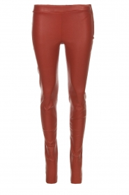 Arma |  Leather leggings Roche | red  | Picture 1