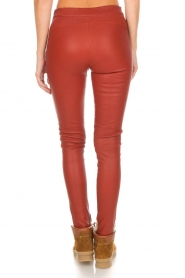 Arma |  Leather leggings Roche | red  | Picture 5
