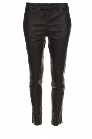 Arma |  Leather leggings Provance | black  | Picture 1