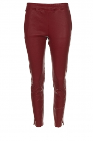 Leren legging Provance | bordeaux