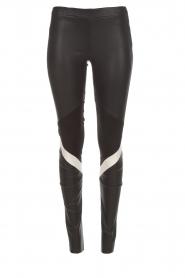 Arma |  Leather leggings Kim | black  | Picture 1