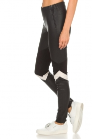Arma |  Leather leggings Kim | black  | Picture 4