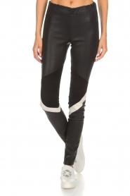 Arma |  Leather leggings Kim | black  | Picture 3