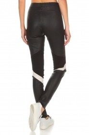 Arma |  Leather leggings Kim | black  | Picture 5