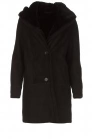 Arma | Lammy coat Babina | zwart  | Afbeelding 1