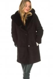 Arma | Lammy coat Babina | zwart  | Afbeelding 4