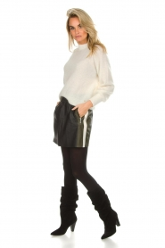 Arma |  Leather skirt Joanna | black  | Picture 3