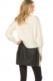 Arma |  Leather skirt Joanna | black  | Picture 5
