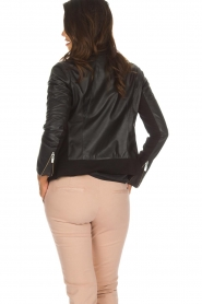 Arma |  Leather jacket Dimaggio | black  | Picture 5