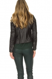 Arma |  Leather biker jacket Jessie | black  | Picture 5