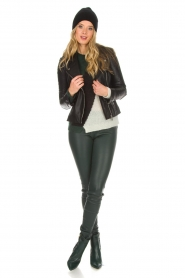 Arma |  Leather biker jacket Jessie | black  | Picture 3