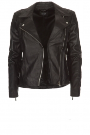 Arma |  Leather biker jacket Jessie | black  | Picture 1
