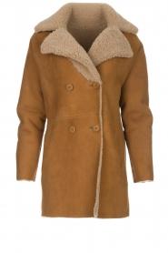 Arma |  Lammy coat Kristina | camel  | Picture 1