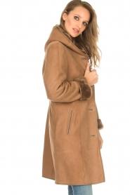 Arma   Lammy coat Posh   camel    Afbeelding 4