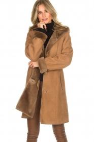 Arma | Lammy coat Posh | camel  | Afbeelding 2