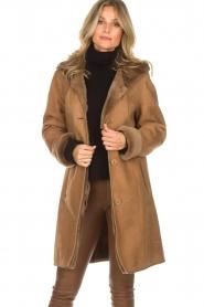 Arma | Lammy coat Posh | camel  | Afbeelding 4