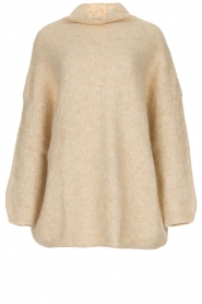 American Vintage |  Turtleneck sweater Zapitown | natural  | Picture 1