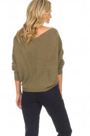 American Vintage |  Sweater Damsville | green  | Picture 5