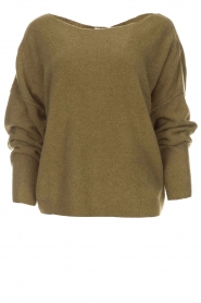 American Vintage |  Sweater Damsville | green  | Picture 1