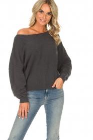 American Vintage |  Sweater Damsville | grey  | Picture 6