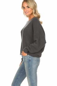 American Vintage |  Sweater Damsville | grey  | Picture 4